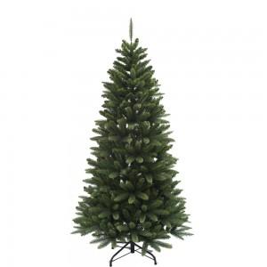 ΕchoExe Χριστουγεννιάτικο δέντρο Semi-Slim με κλαδιά PE Mix και ύψος 210 εκ
