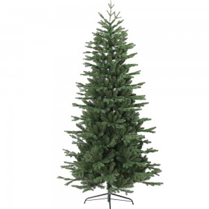 EchoMan Χριστουγεννιάτικο δέντρο Slim με κλαδιά PE Mix και ύψος 240 εκ