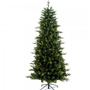 ΗydeEcho Χριστουγεννιάτικο δέντρο Slim με κλαδιά PE Mix και ύψος 240 εκ