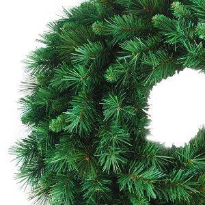 WrethMandua Χριστουγεννιάτικο στεφάνι mix needle 90εκ
