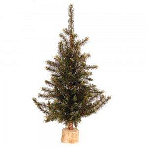 Χριστουγεννιάτικο δεντράκι σε ξύλινη 90 εκ