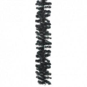 Γιρλάντα διακόσμησης με κλαδιά Μαύρη 270 εκ