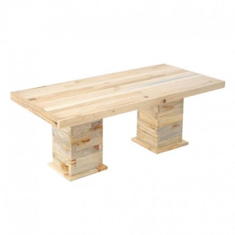 Τραπέζι Χαμηλό Ξύλινο  53Χ113Χ44εκ