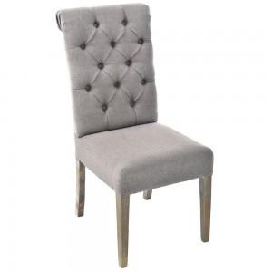 Ξύλινη υφασμάτινη καρέκλα 46x64x99 εκ