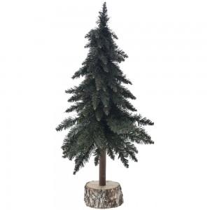 Χριστουγεννιάτικο δέντρο σε ξύλινο κορμό 80 εκ