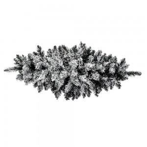 Χιονισμένη Χριστουγεννιάτικη γιρλάντα 70 εκ