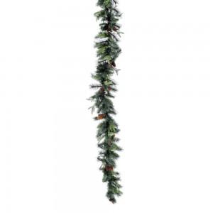 Χριστουγεννιάτικη γιρλάντα Nature με κουκουνάρια 42x270 εκ