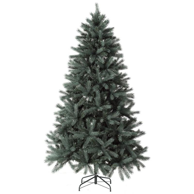 BlueGreen Χριστουγεννιάτικο δέντρο με mix κλαδιά και 400Led Built In 210cm
