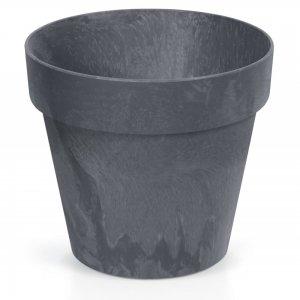 Ανθρακί κασπώ pp Cube beton effect σετ των έξι 17x15 εκ
