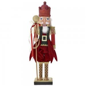 Χριστουγεννιάτικο διακοσμητικό καρυοθραύστης κόκκινος pp 60 εκ