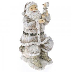 Διακοσμητική φιγούρα Άγιος Βασίλης 12x18 εκ