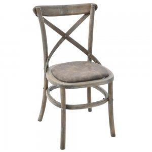 Ξύλινη καρέκλα καφενείου 50x53x87 εκ
