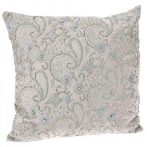 Βελούδινο μαξιλάρι με χάντρες 45x45 εκ