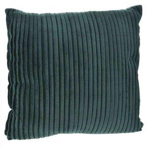 Πράσινο μαξιλάρι από βελούδο κοτλέ 45x45 εκ