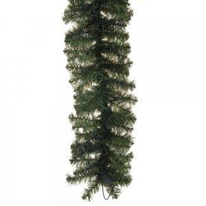 Γιρλάντα χριστουγεννιάτικη πράσινη διακόσμησης με 220 κλαδιά 35 εκ