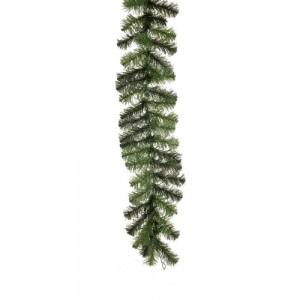 Κλάδα στολισμού σε φυσική πράσινη απόχρωση με 110 κλαδιά 270 εκ