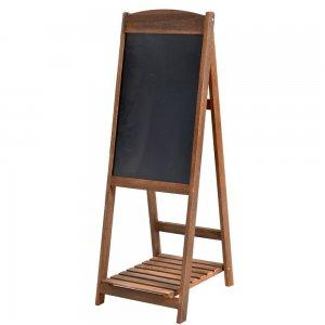 Ξύλινος μαυροπίνακας με βάση 40x110 εκ