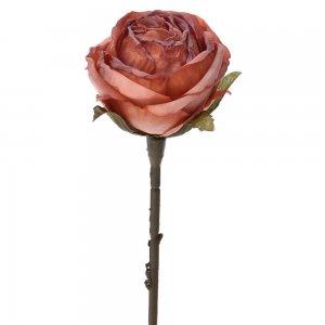 Διακοσμητικό κόκκινο τριαντάφυλλο σετ των δώδεκα τεμαχίων 28 εκ
