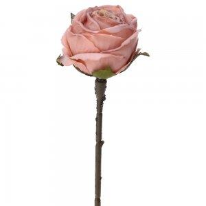 Διακοσμητικό ροζ τριαντάφυλλο σετ των δώδεκα τεμαχίων 28 εκ