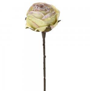 Διακοσμητικό βεραμάν τριαντάφυλλο σετ των δώδεκα τεμαχίων 28 εκ