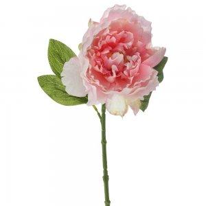 Διακοσμητική ροζ παιώνια σετ των έξι τεμαχίων 35 εκ