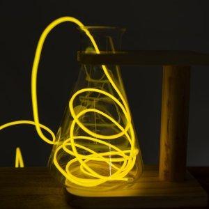 Μίνι φωτοσωλήνας μπαταρίας neon θερμό λευκό 2 μέτρα