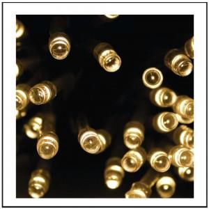 100 LED Εξωτ. χώρου με επέκταση, Καουτσούκ - soft 10m G/WW