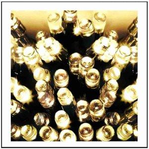 160 LED Λαμπάκια με πρόγραμμα  Λευκό Soft φως 8m G/SW