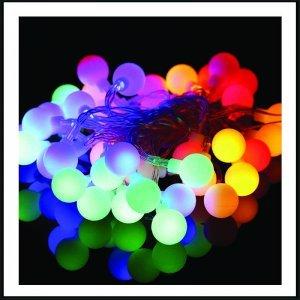 20 Led με μπαταρία Frozen Cap εναλλαγής χρώματος RGB 2 μέτρα