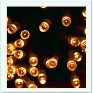 240 LED Εξωτερικού χώρου IP44 με πρόγραμμα και επέκταση, πράσινο καλώδιο -Fire λευκό φως 12+4m G/FW