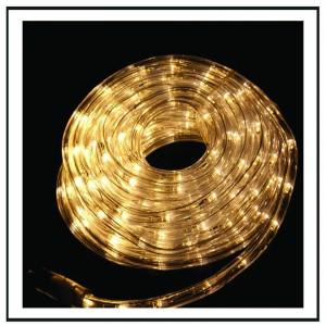 Φωτοσωλήνας LED 10μ λευκό θερμό φως με 8 προγράμματα φωτισμού IP44