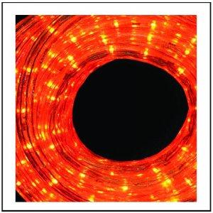 LED  Φωτοσωλήνας με πορτοκαλί φως και πρόγραμμα, 10m IP44