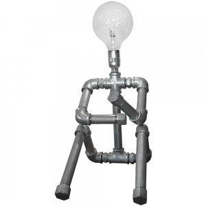 Επιτραπέζιο industrial φωτιστικό μονόφωτο ρομπότ