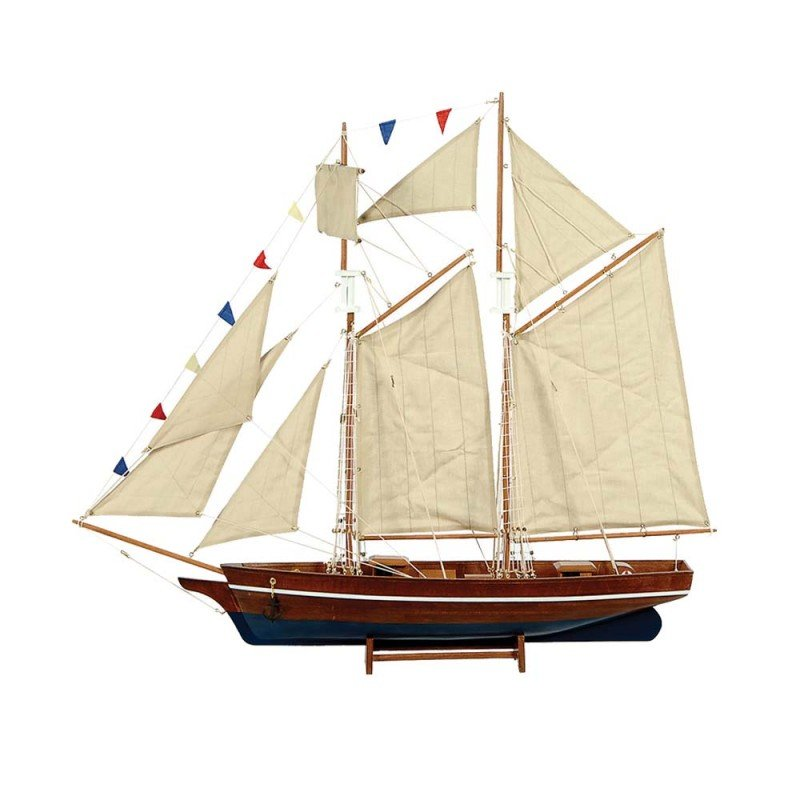 Ship Καραβάκι Διακοσμητικό με πανιά 70cm
