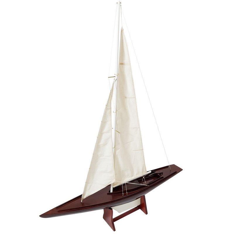 Συλλεκτικό ξύλινο διακοσμητικό ιστιοφόρο Dragon 1929