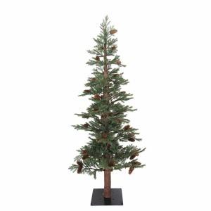 EchoWoody Χριστουγεννιάτικο δέντρο με ξύλινο φυσικό κορμό και ύψος 200 εκ