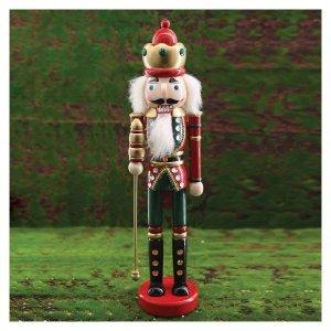 Ξύλινος στρατιώτης Χριστουγεννιάτικο διακοσμητικό 38 εκ