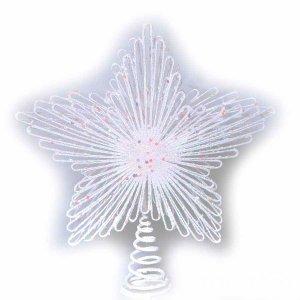 KN Χριστουγεννιάτικη Κορυφή Δέντρου Λευκό 23cm