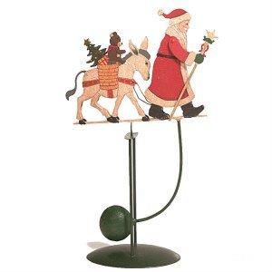 Μεταλλικός ισσοροπιστής  Άγιος Βασίλης με Αλογάκι