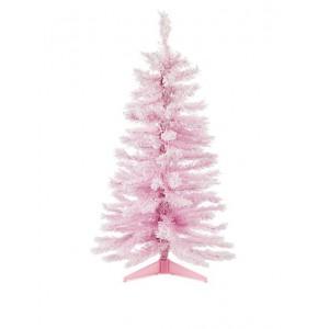 Mini Rose Χριστουγεννιάτικο μίνι δεντράκι Ροζ 80cm