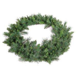 Χριστουγεννιάτικο Στεφάνι μικτό με διάμετρο 100εκ
