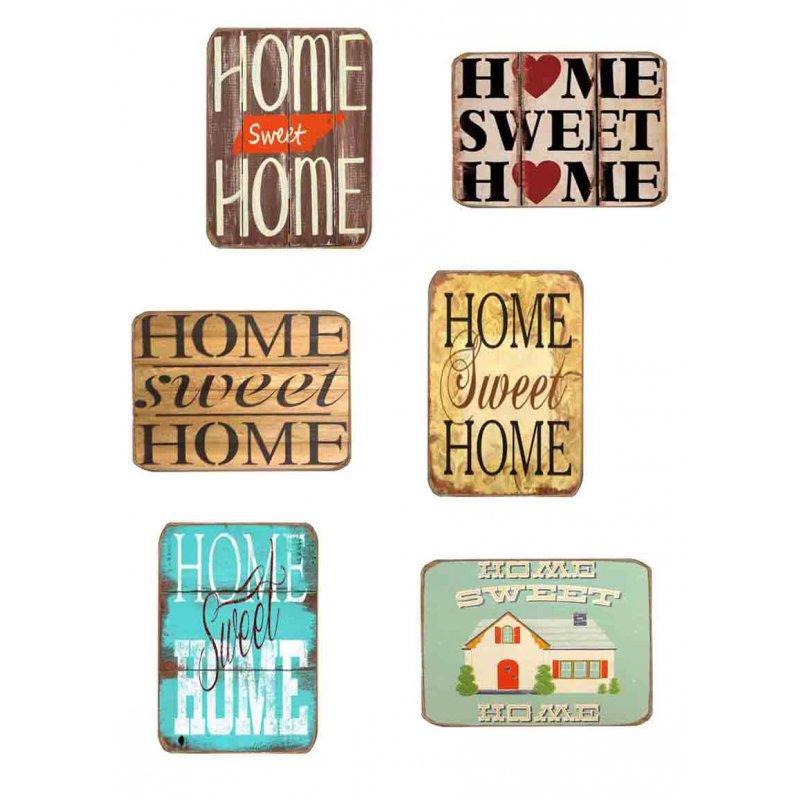 3ea7168d2c Μαγνητάκια Ψυγείου Χειροποίητα Home Sweet Home S 6 τεμ.