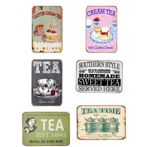 Μαγνητάκια Ψυγείου Χειροποίητα Tea Set S/6 τεμ.