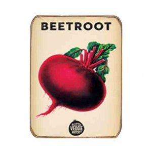 Ρετρό Μαγνητάκι ψυγείου Χειροποίητο Beetroot