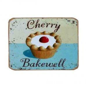 Ρετρό Μαγνητάκι ψυγείου Χειροποίητο Cherry Bakewell