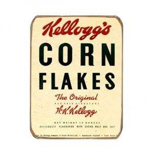Ρετρό Μαγνητάκι ψυγείου Χειροποίητο Corn Flakes