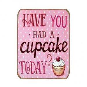 Ρετρό Μαγνητάκι ψυγείου Χειροποίητο Cupcake
