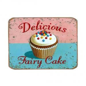 Ρετρό Μαγνητάκι ψυγείου Χειροποίητο Delicious Fairy Cake