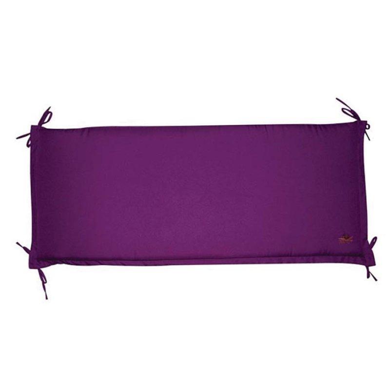 Μαξιλάρι καναπέ τριών θέσεων μωβ (Συσκ. 6 τεμ.)