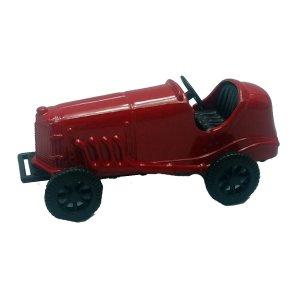 Μεταλλική μινιατούρα και ξύστρα παλιό αγωνιστικό αυτοκίνητο